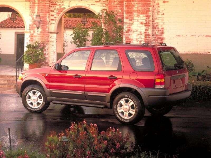 Ford Maverick 2 generation SUV 2.0 MT 4x4 (2000–2004)