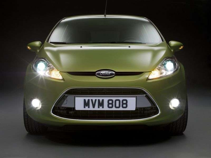 Ford Fiesta 6 generation hatchback 3 dv. 1.6 Zetec S Mountune MT (2009–2012)