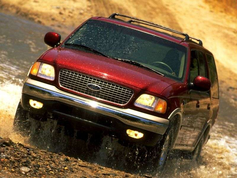 Ford Expedition 1st generation [restyled] SUV 4.6 AT AWD (1999–2000)