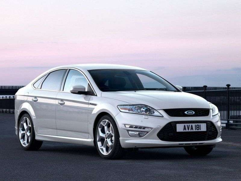 Ford Mondeo 4th generation [restyling] liftback 2.3 AT Titanium (2012) (2010–2013)