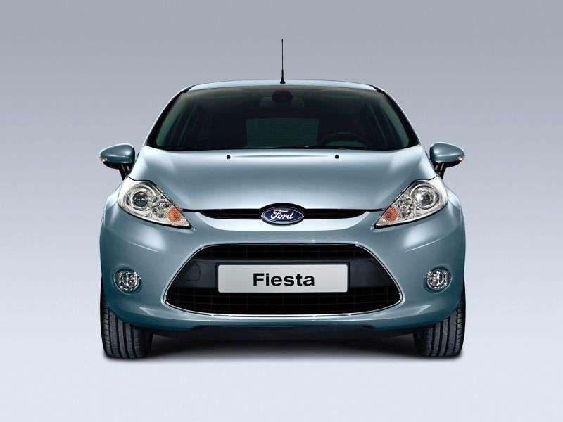 Ford Fiesta 6 generation hatchback 3 dv. 1.4 AT BLACK & WHITE EDITION (2008–2012)