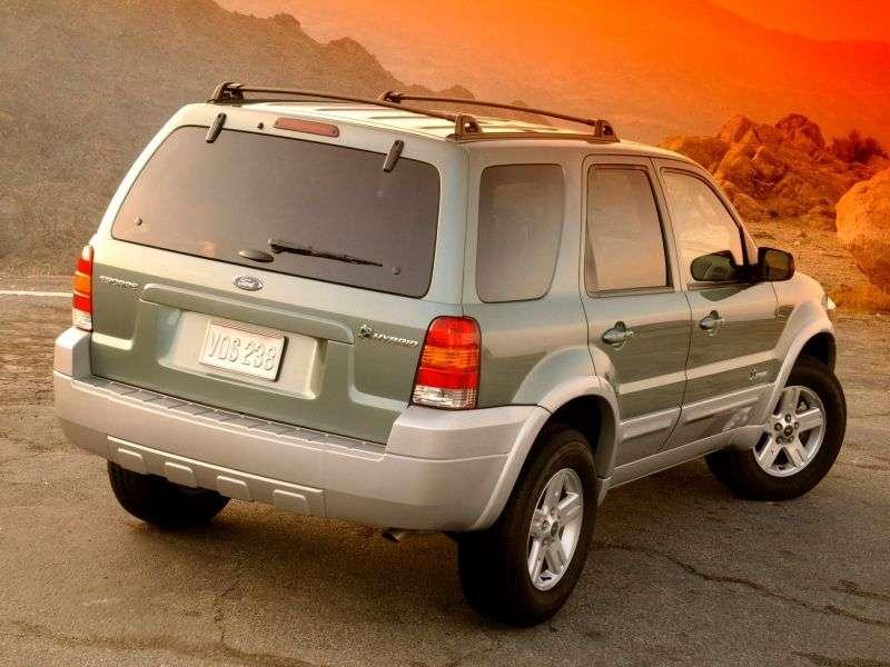 Ford Escape 1 generacji [zmiana stylizacji] Hybrydowy crossover 5 drzwiowy. 2.3 eCVT (2004 2007)