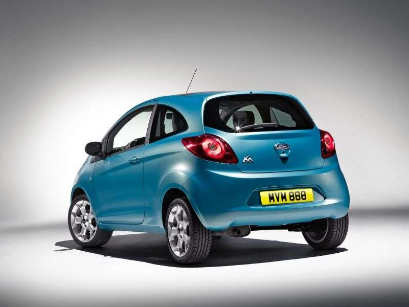 Ford KA 2 generation hatchback 1.3 TDCi MT (2008 – present)