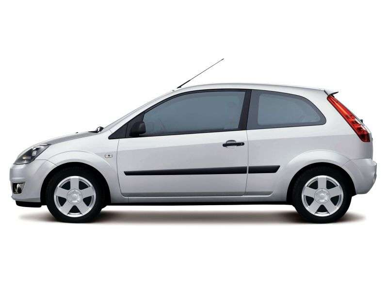 Ford Fiesta 5th generation [restyling] 3 bit hatchback 1.4 TDCi MT (2005–2008)