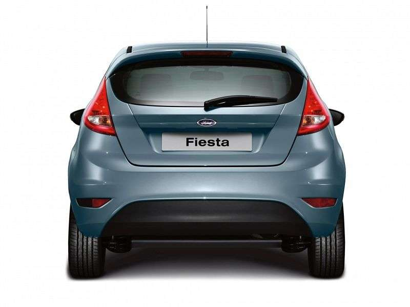 Ford Fiesta 6 generation hatchback 3 dv. 1.6TDCi MT (2008–2012)