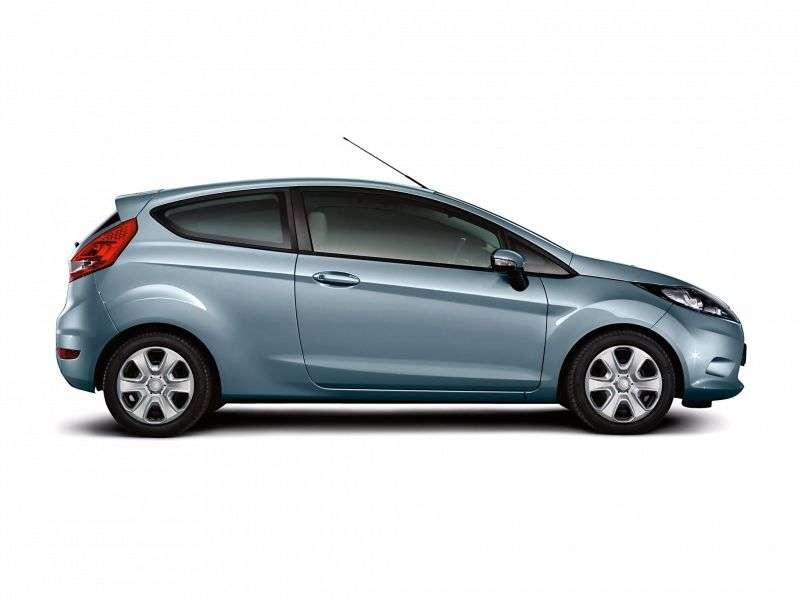 Ford Fiesta 6 generation hatchback 3 dv. 1.6TDCi ECOnetic MT (2011–2012)