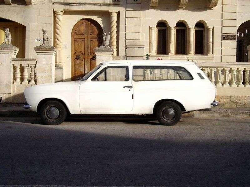 Ford Escort 1st generation 1.1 MT wagon (1970–1974)