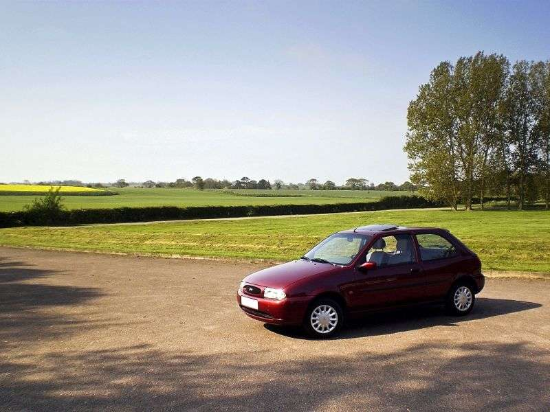 Ford Fiesta 4 generation hatchback 3 dv. 1.0 MT (1996–2000)