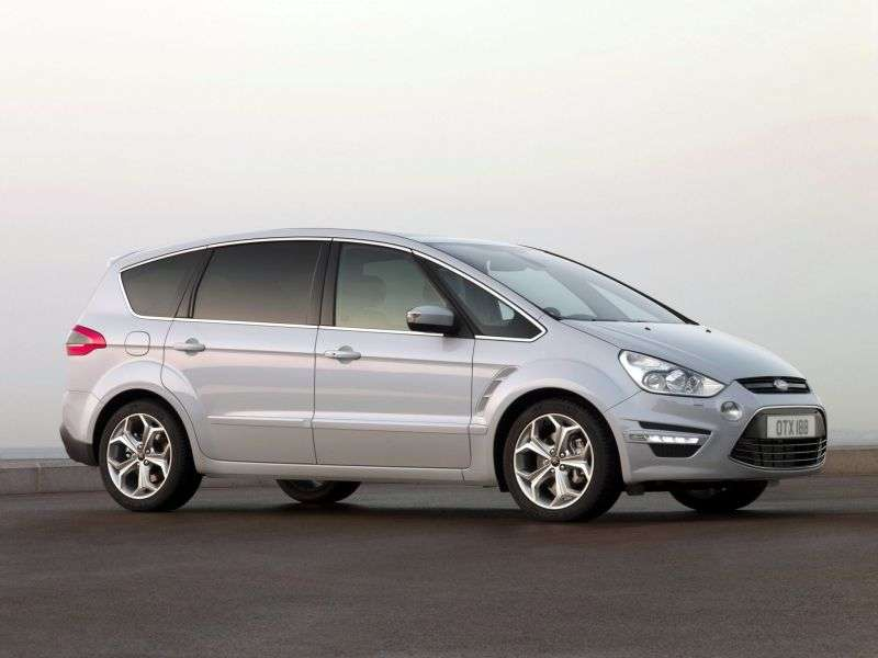 Ford S Max 1st generation [restyled] minivan 1.6 EcoBoost MT (2011 – n.)