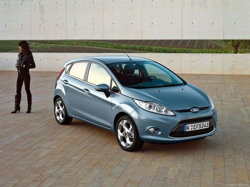 Ford Fiesta 6th generation hatchback 5 dv. 1.6TDCi ECOnetic MT (2011–2012)