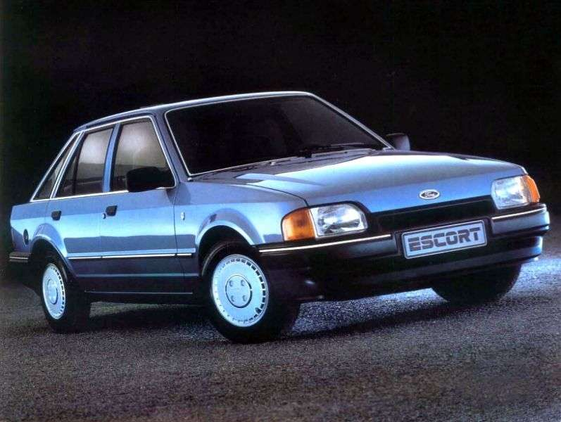 Ford Escort 4 generation hatchback 5 dv. 1.4 CTX (1989–1990)