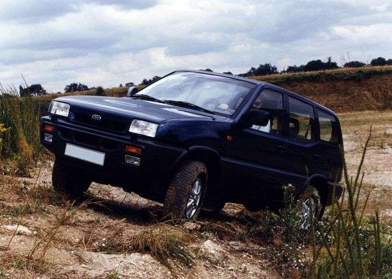 Ford Maverick 1st generation SUV 5 bit 2.4 MT 4x4 (1993–1996)
