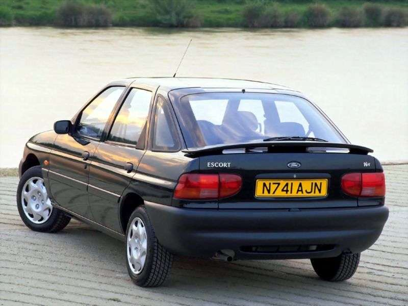 Ford Escort 6 generation hatchback 5 dv. 1.4 MT (1995–2000)