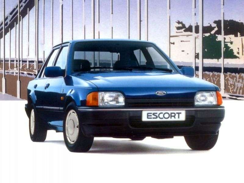 Ford Escort 4 generation hatchback 5 dv. 1.6 CTX (1989–1990)