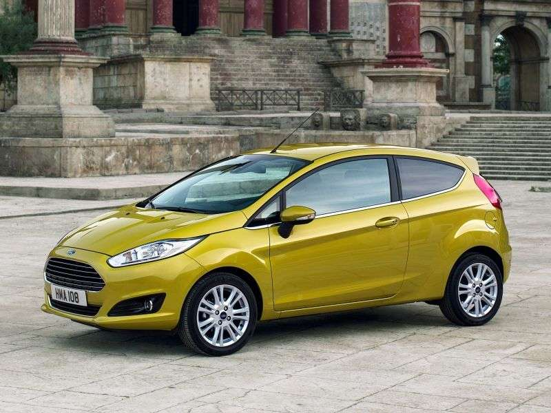 Ford Fiesta 6th generation [restyling] 3 bit hatchback 1.0 EcoBoost MT (2013 – present)