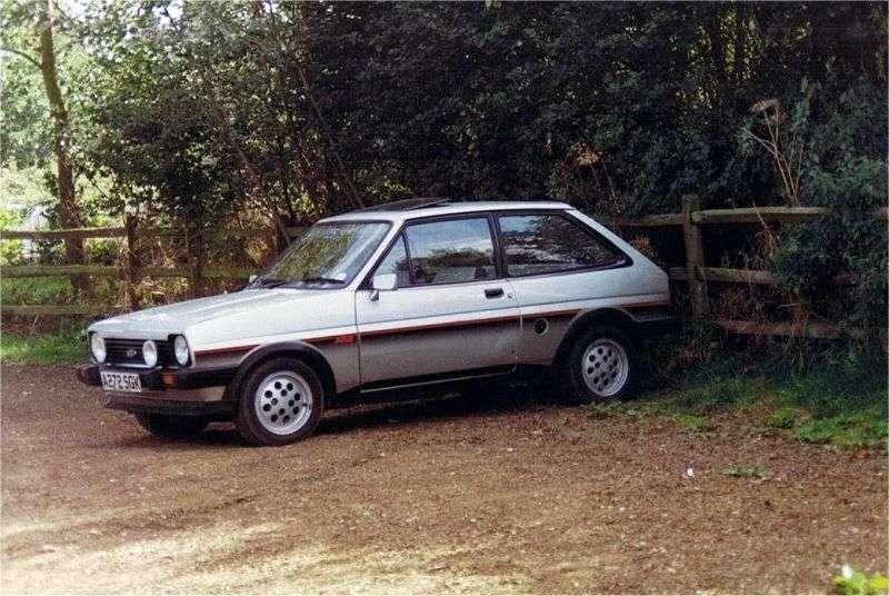 Ford Fiesta 1st generation XR hatchback 3 bit. 1.6 MT (1981–1983)