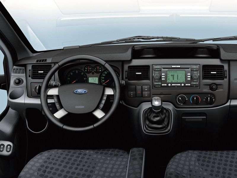Ford Transit 6th generation DCiV van 5 bit. 2.4 TDCi MT AWD 350 LWB Average Roof Base (2006–2012)