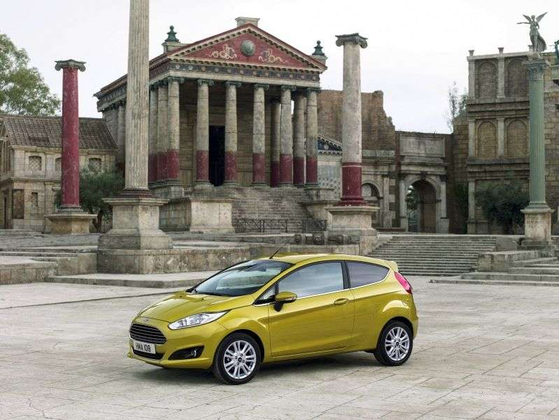 Ford Fiesta 6th generation [restyling] 3 bit hatchback 1.0 EcoBoost Powershift (2013 – current century)
