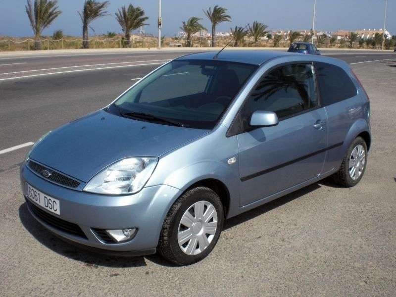 Ford Fiesta 5th generation hatchback 3 dv. 1.6 TDCi MT (2004–2005)