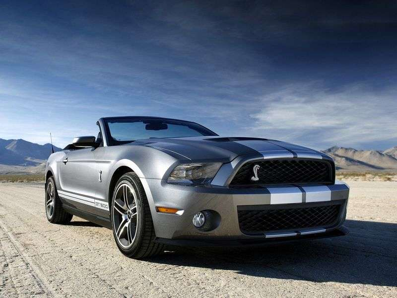 Ford Shelby 2nd generation convertible 5.4 MT (2006 – present)