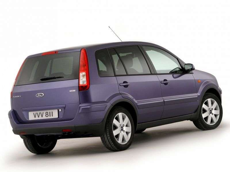 Ford Fusion 1st generation [restyled] 5 bit hatchback 1.25 MT (2005–2010)