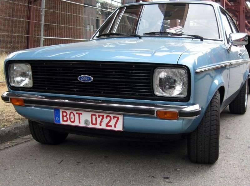 Ford Escort 2nd generation [restyling] coupe 2 doors 1.1 MT (1978–1980)
