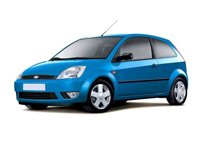 Ford Fiesta 5th generation hatchback 3 dv. 1.6 AT (2005–2006)