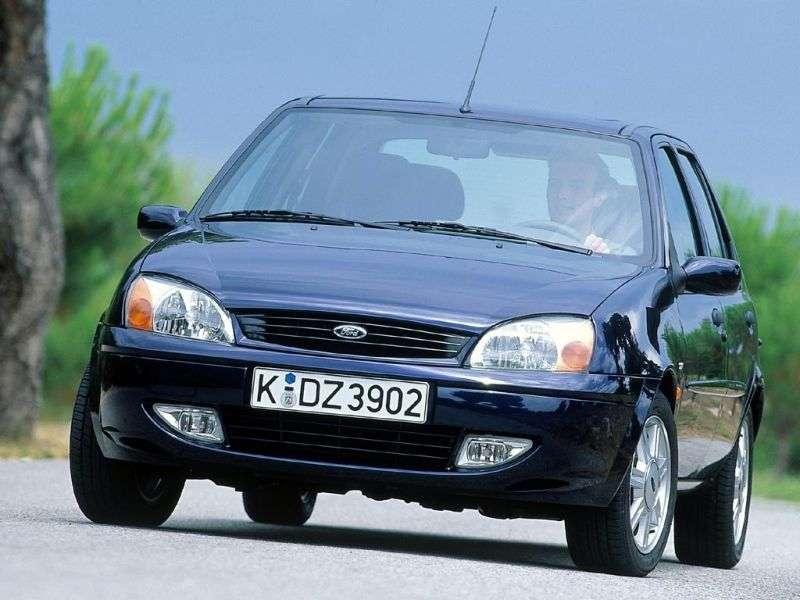 Ford Fiesta 4th generation [restyling] 5 dv hatchback 1.4 MT (1999–2002)