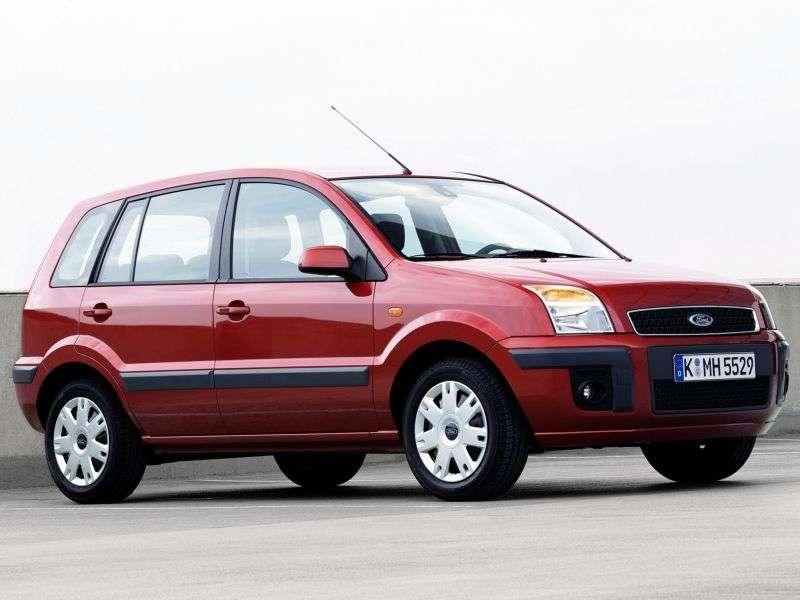 Ford Fusion 1st generation [restyled] 5 bit hatchback 1.4 Durashift EST (2005–2010)