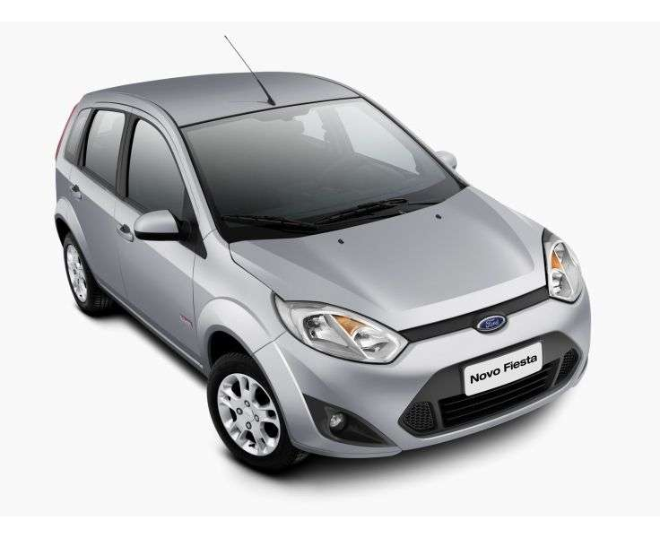 Ford Fiesta 5th generation [2nd restyling] hatchback 1.6 Rocam Flex MT (2010 – n.)