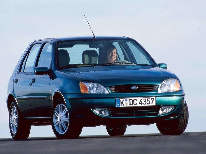 Ford Fiesta 4th generation [restyling] 5 dv hatchback 1.8 D MT (1999–2002)
