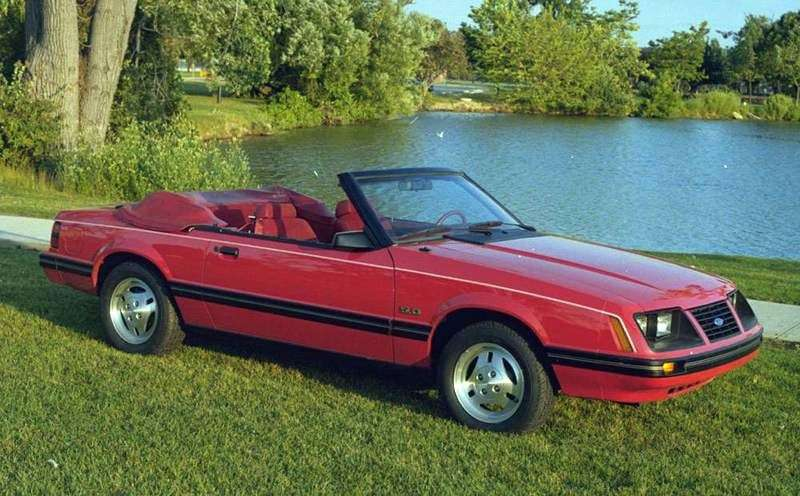 Ford Mustang 3rd generation 2.3 MT convertible (1978–1993)
