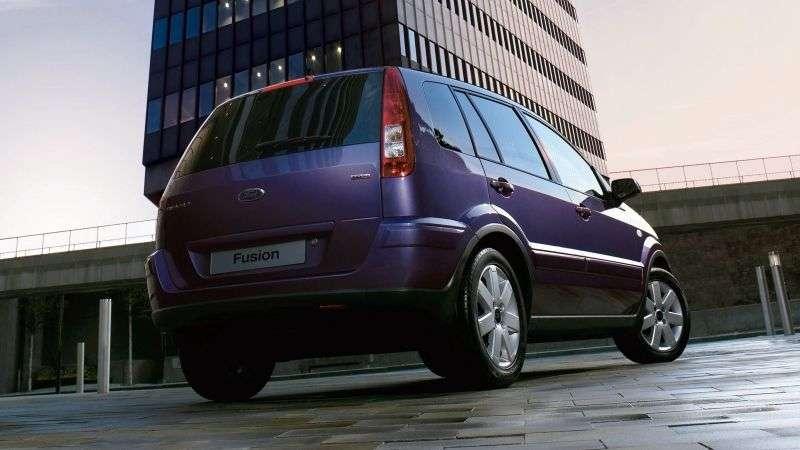 Ford Fusion 1st generation [restyled] 5 bit hatchback 1.6 EuroV MT (2005–2012)