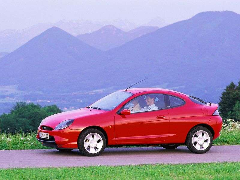 Ford Puma 1st generation coupe 1.6i MT (1997–2001)