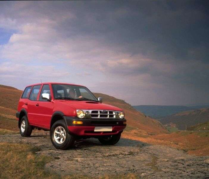Ford Maverick 1st generation [restyled] 5 dv SUV 2.4 MT 4x4 (1996–1998)