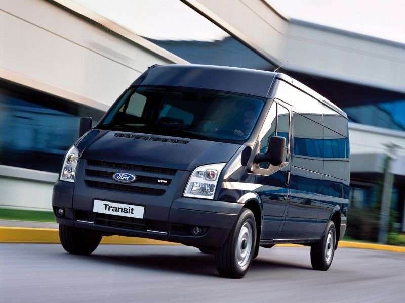 Ford Transit 6th generation Van Van 5 dv. 2.4 TDCi MT RWD 330 SWB Low Roof Base (2006 – BC)