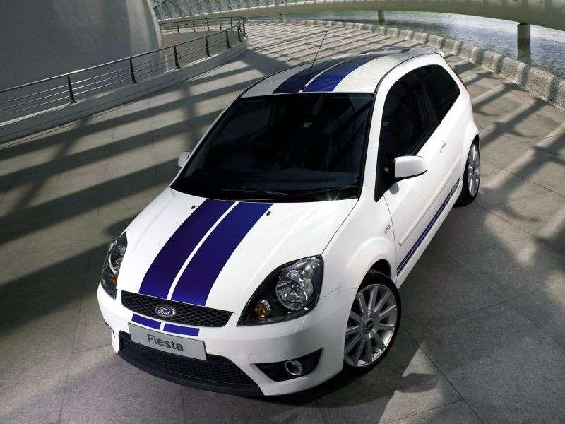 Ford Fiesta 5th generation [restyling] ST hatchback 3 dv. 2.0 ST165 MT (2008–2008)