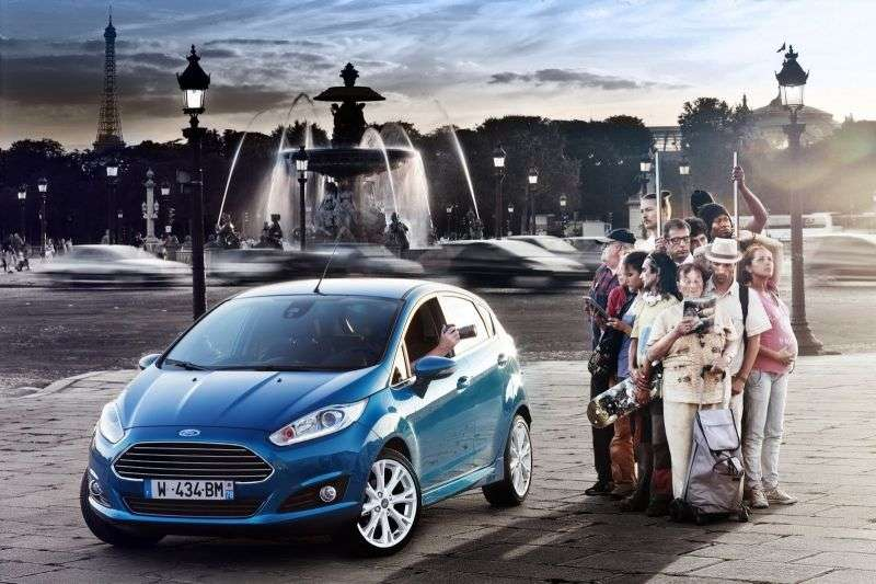 Ford Fiesta 6th generation [restyling] 5 bit hatchback 1.4 LPG MT (2013 – present)