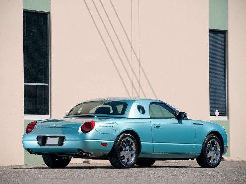 Ford Thunderbird 11 generation convertible 4.0 AT (2002–2005)