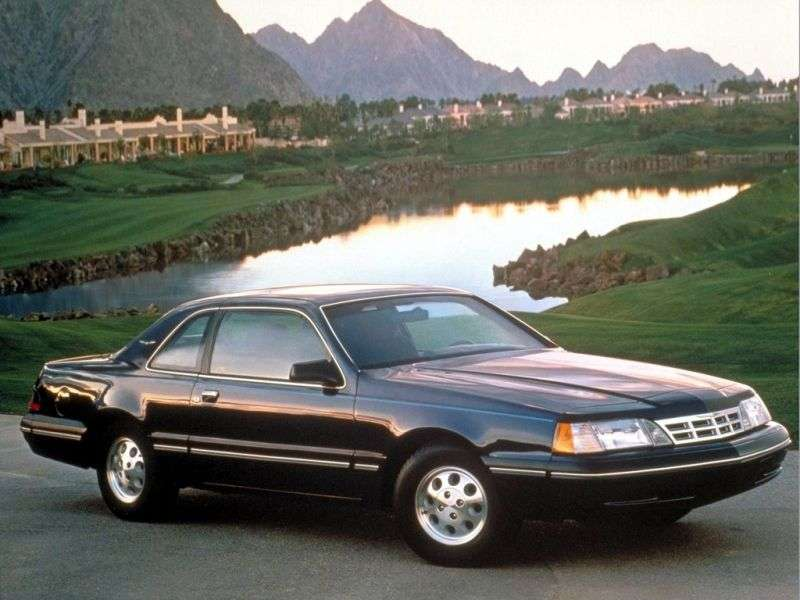Ford Thunderbird 9th generation [restyling] coupe 3.8 4AT (1987–1988)