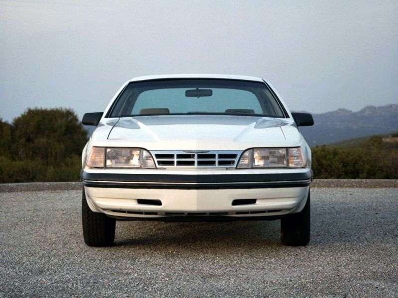Ford Thunderbird 9th generation [restyling] Coupe 5.0 AT (1987–1988)