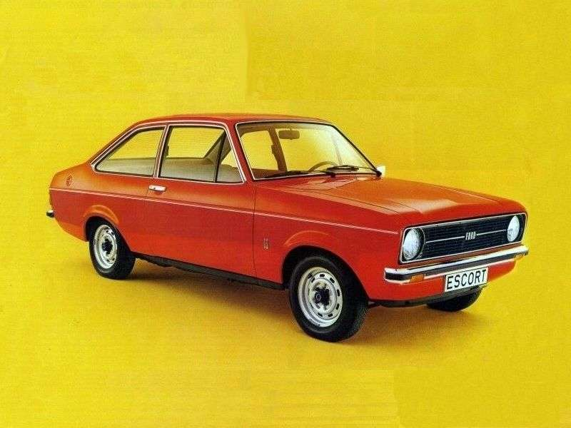 Ford Escort 2nd generation coupe 2 bit. 1.3 MT (1974–1979)