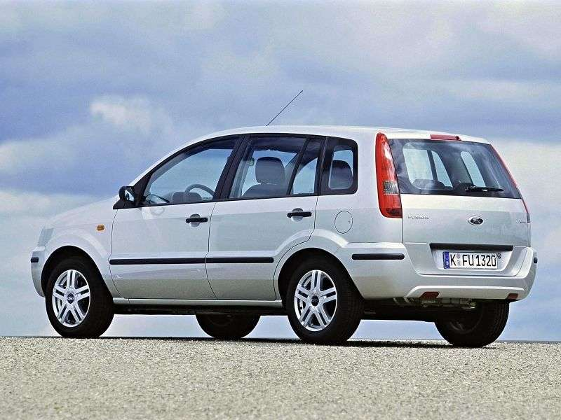 Ford Fusion 1st generation hatchback 1.4 TDCI MT (2002–2005)