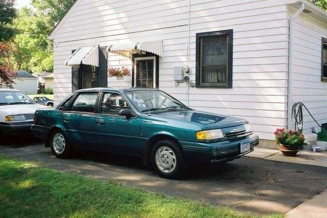 Ford Tempo 2.3 generation sedan 2.3 AT (1987–1994)