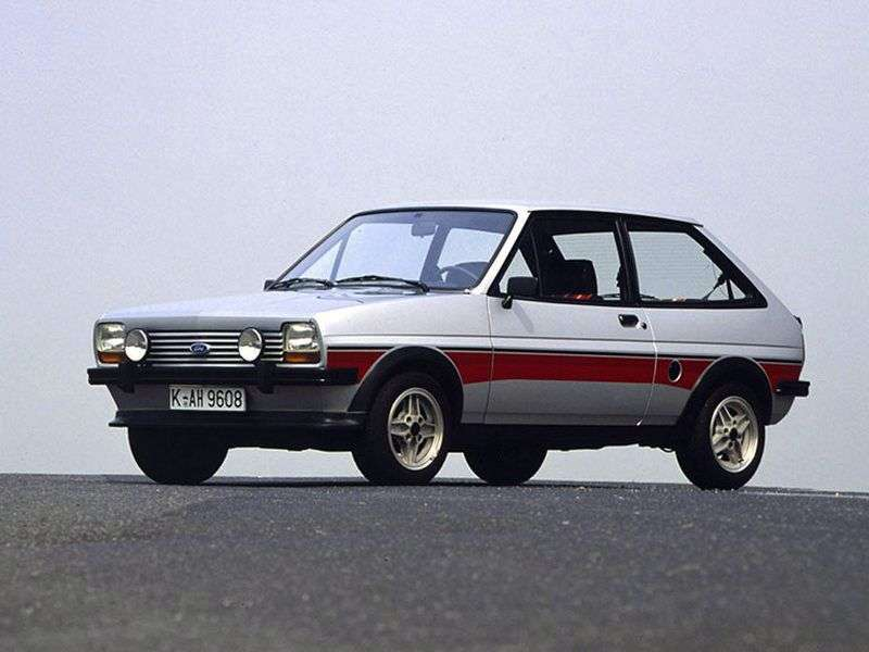 Ford Fiesta 1 generation hatchback 3 dv. 1.1 Economy MT (1982–1983)