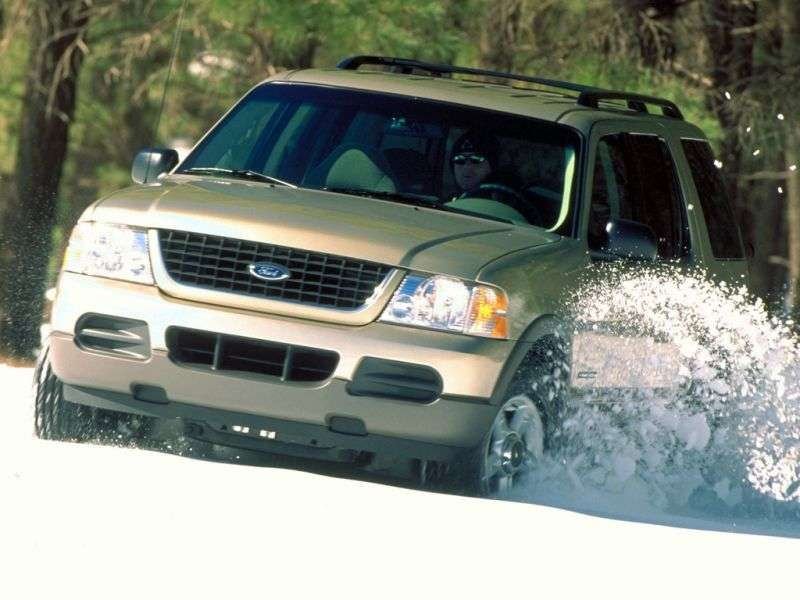 Ford Explorer 3rd generation SUV 4.0 AT 4x4 (2002–2006)