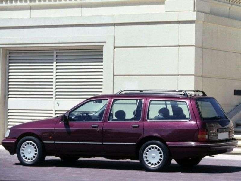 Ford Sierra 1st generation [restyled] wagon 1.8 MT (1987–1988)