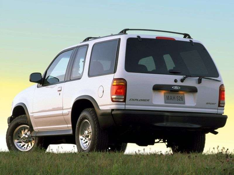 Ford Explorer 2 generation [restyling] Sport SUV 3 dv. 4.0 MT 4x4 (1999–2001)