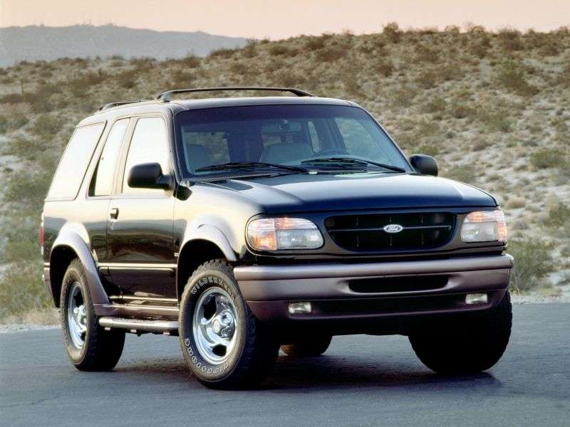 Ford Explorer 2 generation Sport SUV 3 dv. 4.0 AT 4x4 (1997–1999)