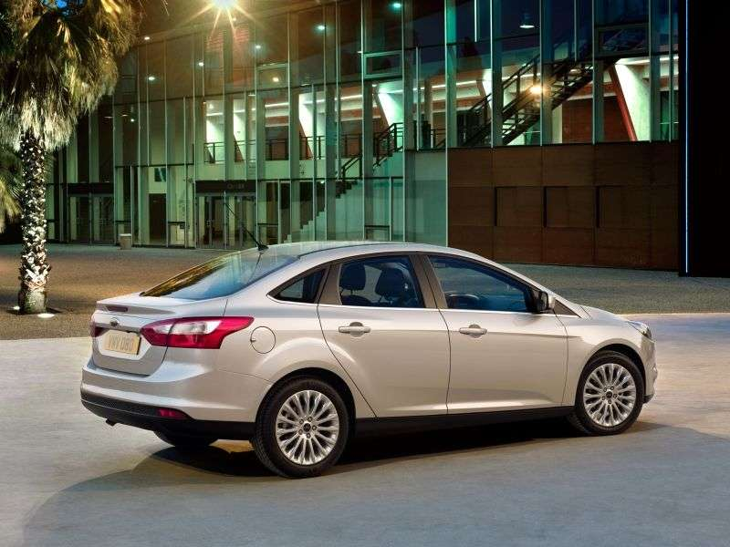 Ford Focus 3 generation sedan 2.0 MT Titanium (2013) (2011 – n.)